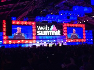 Nicole Sell of WICKR, a truely privaty app, was a huge name on Websummit in Dublin 2015